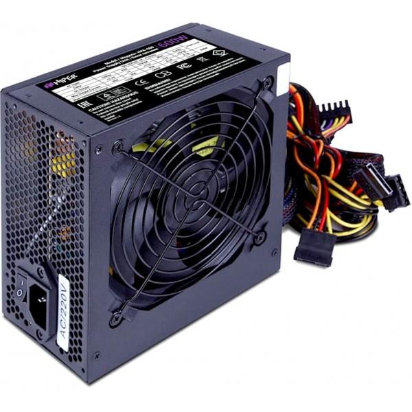 Блок питания HIPER HPA-600 (ATX 2.31, 600W, Active PFC, 80Plus, 120mm fan, черный) BOX