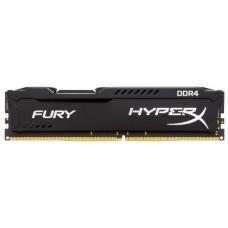 Оперативная память Kingston hyperx fury black ddr4 4gb (pc4-19200) 2400mhz cl15 HX424C15FB/4