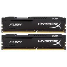 Оперативная память Kingston Hyperx fury hx424c15fb2k2/16 Dimm ddr4 (2400) 16gb. cl15. 1.2v. комплект 2 шт. по 8gb. rtl HX424C15FB2K2/16