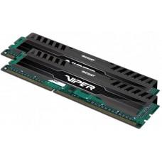 Patriot Memory Viper 3 Black DDR3 DIMM 1600MHz PC3-12800 CL10 - 16Gb KIT (2x8Gb) PV316G160C0K PV316G160C0K