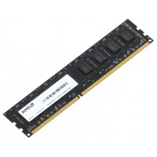 Модуль памяти AMD Radeon R534G1601U1SL-UO 4GB DDR3L 1600 DIMM R5 Entertainment Series Black Non-ECC. CL11. 1.35V. Bulk