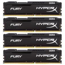 Модуль памяти Kingston 16gb pc19200 ddr4 kit4 hx424c15fbk4/16 HX424C15FBK4/16