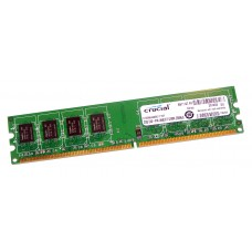 Память Crucial CT25664AA800 DDR2 2048Mb 800MHz (PC2-6400) CL6 Unbuffered UDIMM 240pin RTL CT25664AA800