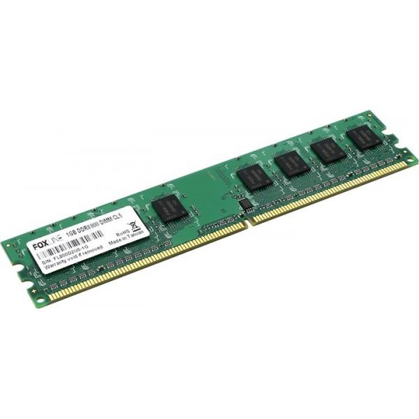 Память оперативная Foxline dimm 1gb 800 ddr2 cl5 (128*8) FL800D2U50-1G.FL800D2U6-1G.FL800D2U5-1G