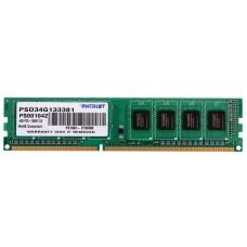 Patriot Memory DDR3 DIMM 1333MHz PC3-10600 - 2Gb PSD32G13332 PSD32G13332