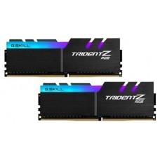 Модуль памяти G.SKILL F4-3200C16D-16GTZR TRIDENT Z RGB DDR4 16GB (2x8GB kit) 3200MHz CL16 PC4-25600 1.35V F4-3200C16D-16GTZR