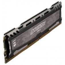 Память оперативная Crucial Ballistix Sport LT DIMM 8GB. DDR4-3000. CL16-18-18 (BLS8G4D30BESBK) BLS8G4D30BESBK