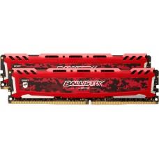 Модуль памяти Crucial Ballistix Sport LT DIMM Kit 16GB. DDR4-3000. CL15-16-16 BLS2K8G4D30AESEK BLS2K8G4D30AESEK