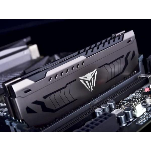 Модуль памяти Patriot V Steel 16GB 3200MHZ CL16 UDIMM SINGLE PVS416G320C6