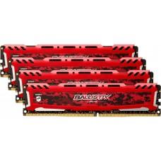 Оперативная память CRUCIAL BLS4K16G4D30AESE 64GB Kit (16GBx4) DDR4 3000 MT/s (PC4-24000) CL15 DR x8 Unbuffered DIMM 288pin BLS4K16G4D30AESE
