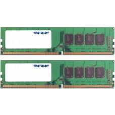 Patriot Memory DDR4 DIMM 2400MHz PC4-19200 CL17 - 8Gb KIT (2x4Gb) PSD48G2400K PSD48G2400K