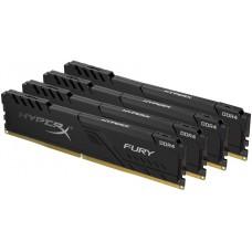 Kingston HyperX Fury Black DDR4 DIMM 3000MHz PC4-24000 CL15 - 16Gb KIT (4x4Gb) HX430C15FB3K4/16 HX430C15FB3K4/16