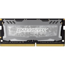 Crucial Ballistix Sport DDR4 SO-DIMM 2400MHz PC4-19200 CL16 - 4Gb BLS4G4S240FSD BLS4G4S240FSD