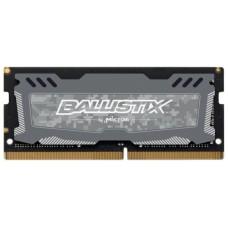 Память оперативная Crucial by Micron DDR4  4GB  2666MHz SODIMM (PC4-21300) CL16 SRx8 1.2V 260pin (Retail) Ballistix Sport LT BLS4G4S26BFSD