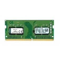 Память оперативная Kingston KVR24S17S6/4 SO-DIMM DDR 4 4Gb PC19200. 2400Mhz. 1.2V. Retail KVR24S17S6/4