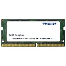 Память Patriot Memory PSD44G240082S DDR4 4Gb 2400MHz PC4-19200 CL17 SO-DIMM 260-pin 1.2В dual rank RTL PSD44G240082S