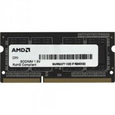 Модуль памяти AMD Radeon R534G1601S1SL-U 4GB DDR3L 1600 SO DIMM R5 Entertainment Series Black Non-ECC. CL11. 1.35V. Retail