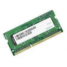 Модуль памяти Apacer 2GB DDR3L 1600 SO DIMM DV.02G2K.HAM Non-ECC. CL11. 1.35V. AS02GFA60CAQBGJ. Retail