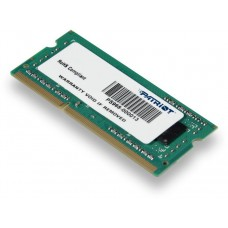 Модуль памяти Patriot ddr3 4gb 1600mhz psd34g160081s rtl pc3-12800 cl11 so-dimm 204-pin 1.5в PSD34G160081S