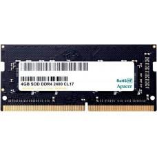 Модуль памяти Apacer ES.04G2T.KFH 4GB DDR4 2400 SO DIMM Non-ECC. CL17. 1.2V. Retail ES.04G2T.KFH