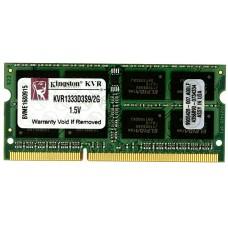 SO DIMM DDR3 (1333) 2048Mb Kingston KVR1333D3S9/2G Retail KVR1333D3S9/2G