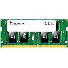 Память оперативная ADATA 4GB DDR4 2400 SO DIMM AD4S2400J4G17-S Non-ECC. CL17. 1.2V. 512x16. RTL AD4S2400J4G17-S
