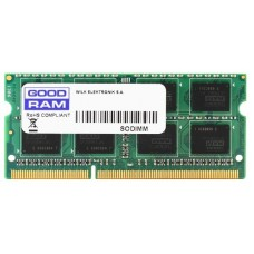 Модуль памяти SO-DIMM DDR3 Goodram 4GB 1600MHz CL11 1.35V [GR1600S3V64L11/4G]