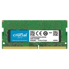 Память Crucial DDR4 8Gb 2400MHz CT8G4S24AM RTL PC4-19200 CL17 SO-DIMM 260-pin 1.2В single rank CT8G4S24AM