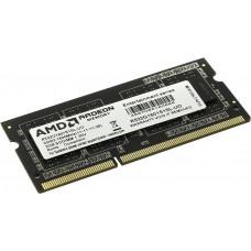 Память AMD Radeon DDR3L 1600 SO DIMM R5 2GB Entertainment Series Black R532G1601S1SL-U Non-ECC. CL11. 1.35V. RTL R532G1601S1SL-U