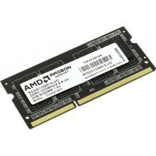 Оперативная память Amd 2gb radeon ddr3 1333 so dimm (r332g1339s1s-uo) value series. black. Bulk R332G1339S1S-UO