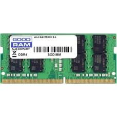 Модуль памяти GOODRAM SODIMM DDR4 4GB PC4-21300 (2666MHz) CL19  512x8 GR2666S464L19S/4G