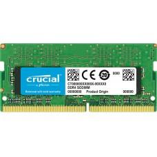 Crucial DDR4 SO-DIMM 2666MHz PC4-21300 CL19 - 4Gb CT4G4SFS8266 CT4G4SFS8266