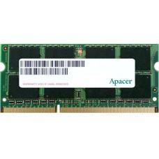 Оперативная память Apacer 2GB DDR3 1600 SO DIMM DS.02G2K.HAM NON-ECC. CL11. 1.5V. 1R. 256X8. RTL