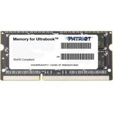 Память 04Gb SO-DIMM PATRIOT PSD34G1600L81S [DDRL3. 04Gb. PC1600. 1.35]