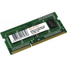 Память оперативная Qumo DDR3 SODIMM 2GB QUM3S-2G1333K9 PC3-10600. 1333MHz QUM3S-2G1333K9