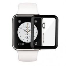 Perfeo защитное стекло Apple Watch 38мм черный 0.2мм 3D Gorilla (PF_A4380) PF_A4380