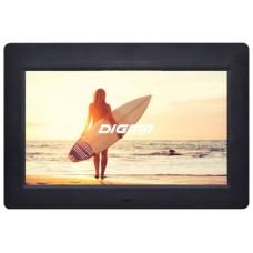 Фоторамка Digma 10.1'' pf-1033 1024x600 черный пластик пду видео PF1033BK