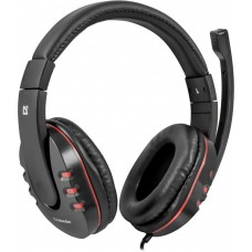 Гарнитура Defender warhead g-160 черный. кабель 2.5 м 64113