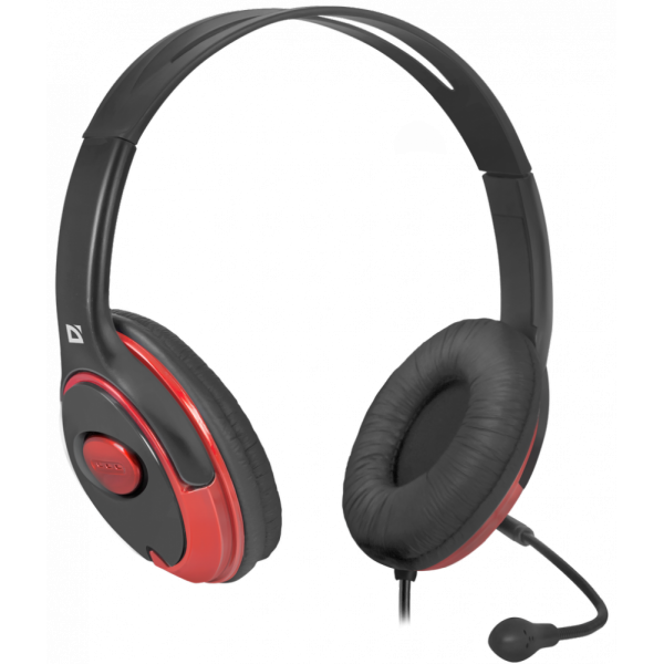 Гарнитура Defender headset phoenix 875/black/red 63875 63875