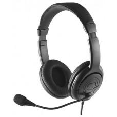 Наушники с микрофоном Perfeo Talker черный PF-TLK-BLK