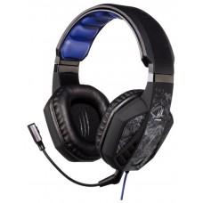 Наушники с микрофоном Hama urage soundz черный (2.5м) мониторы (оголовье) 00113736
