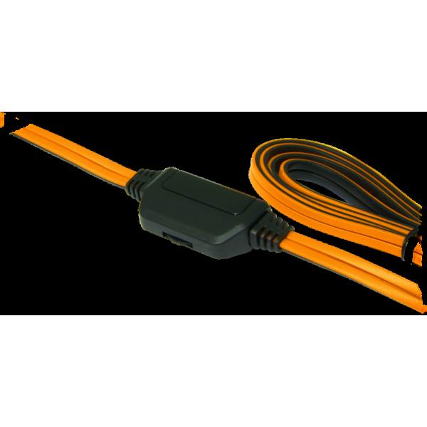 Игровая гарнитура Defender warhead g-120 черный + оранжевый. кабель 2м 64099