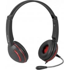 Гарнитура Defender Aura-115 черный 63115