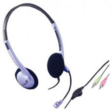 Гарнитура Genius hs-02b (с микрофоном . фиолетовый . 1.9м) 31710037100