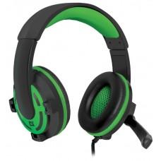 Гарнитура Defender headset gaming warhead g-300/green 64128 64128