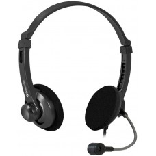 Гарнитура Defender aura 104 черный (кабель 1.8м) 63104