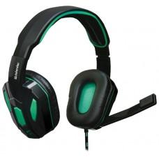 Гарнитура Defender gaming warhead g-275 green/black 64122 64122