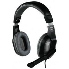 Гарнитура Hama offbeat серый 2м мониторы оголовье 00053983