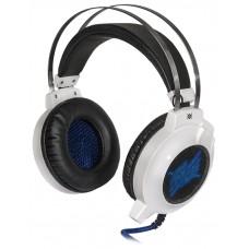 Гарнитура Defender Icefall G-510D белый/синий 64510