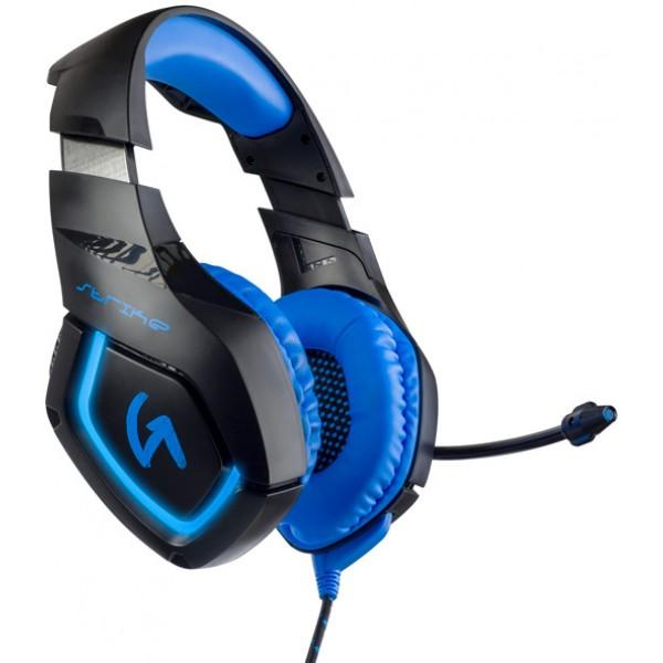 Игровая гарнитура Perfeo GUARD черный с синим PF_A4429